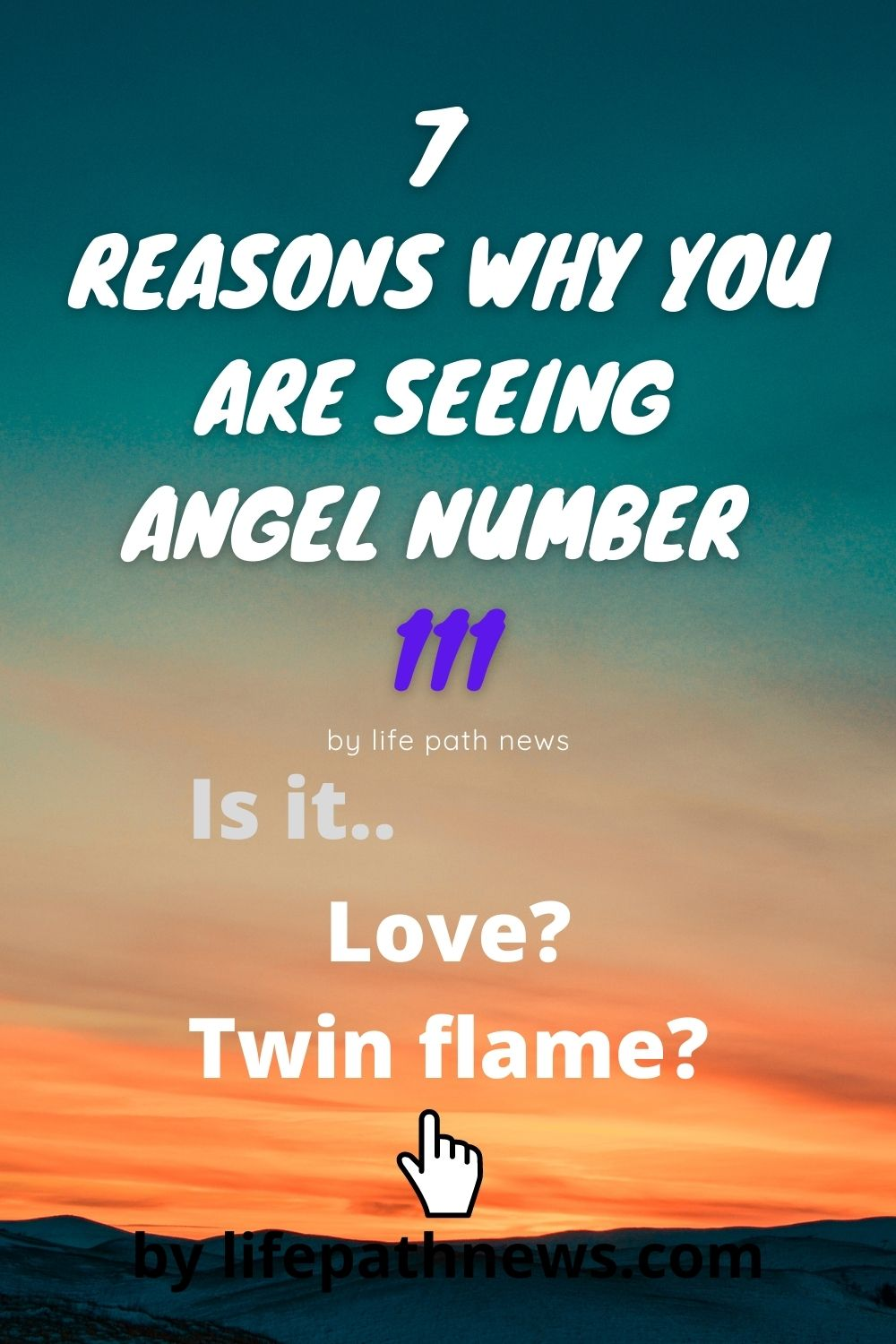 Meaning of angel number 111